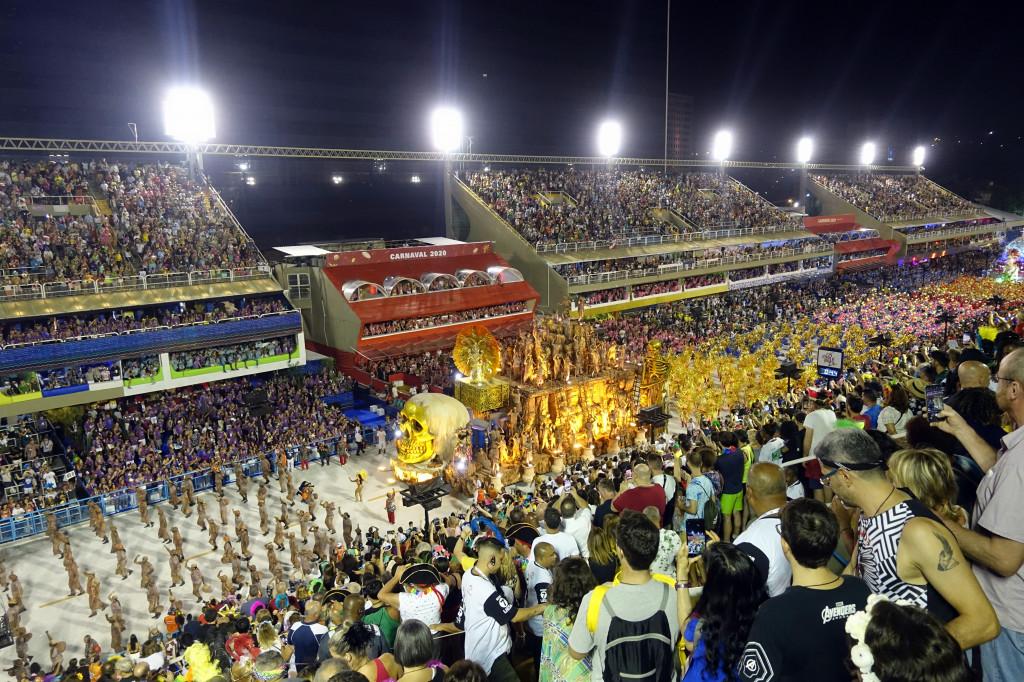 Karneval in Rio - Sambaparade