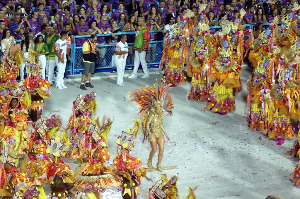 Karneval in Rio - Sambatänzer