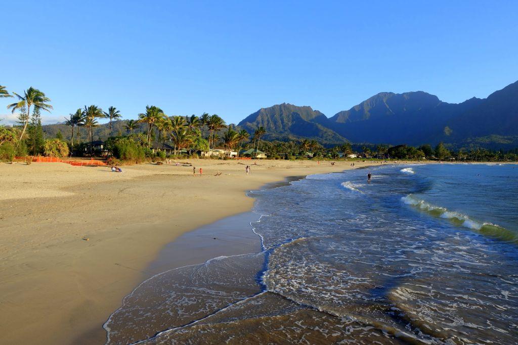 Sehenswürdigkeiten auf Kauai - Hanalei Bucht auf Kauai