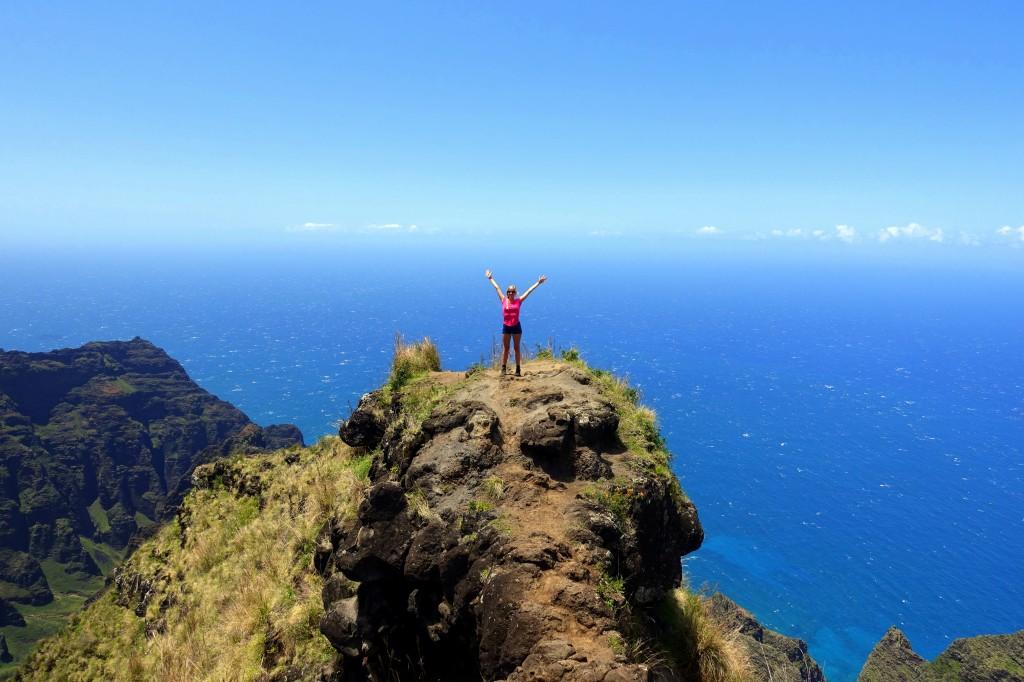 Sehenswürdigkeiten auf Kauai - Wanderung im Kokee State Park an der Napali Coast