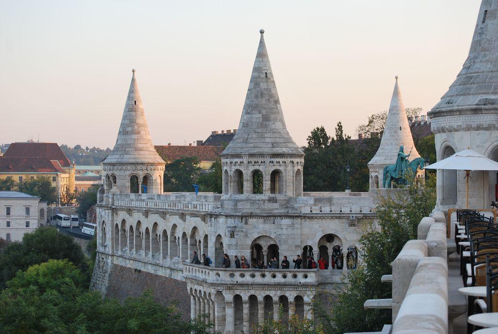 Sehenswürdigkeiten in Budapest: Fischerbastei