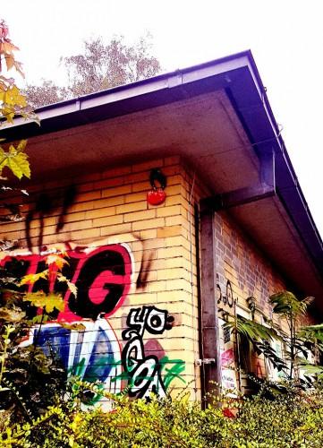 Streetart in Hannover: Kirschen