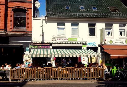 Gute Restaurants in Hannover: Das Street Kitchen in Linden