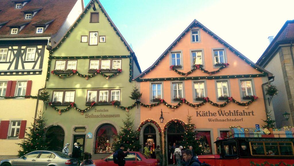 Weihnachtsladen in Rothenburg ob der Tauber