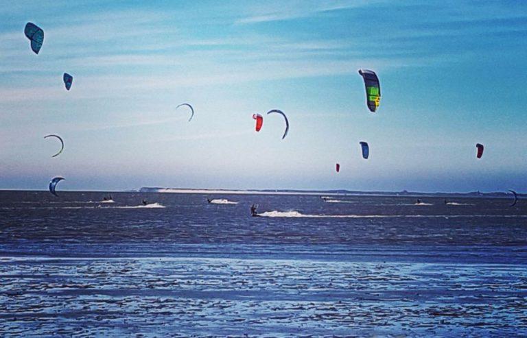 Kitesurfen an der Nordsee