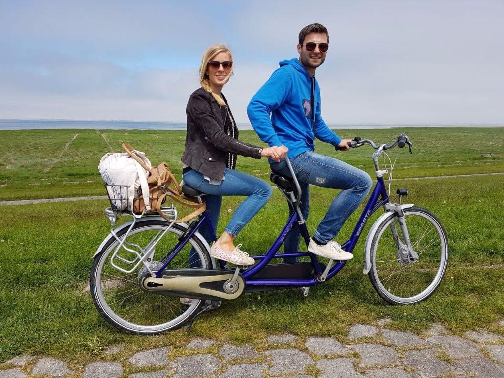 Fahrradtour an der Nordseeküste um Neuharlingersiel