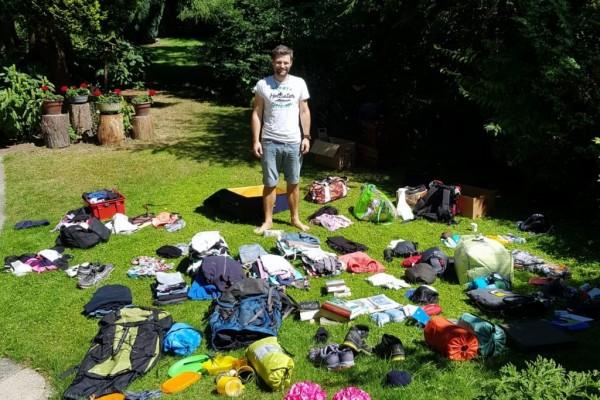 Packliste für Backpacking und Reisende inkl. Packliste Camping