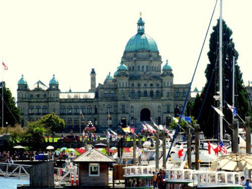 Parlament in Victoria im Vancouver Island-Reisebericht