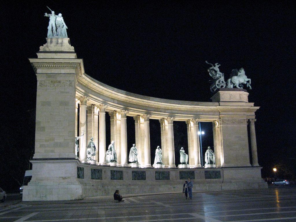 Budapest Sehenswürdigkeiten: Heldenplatz