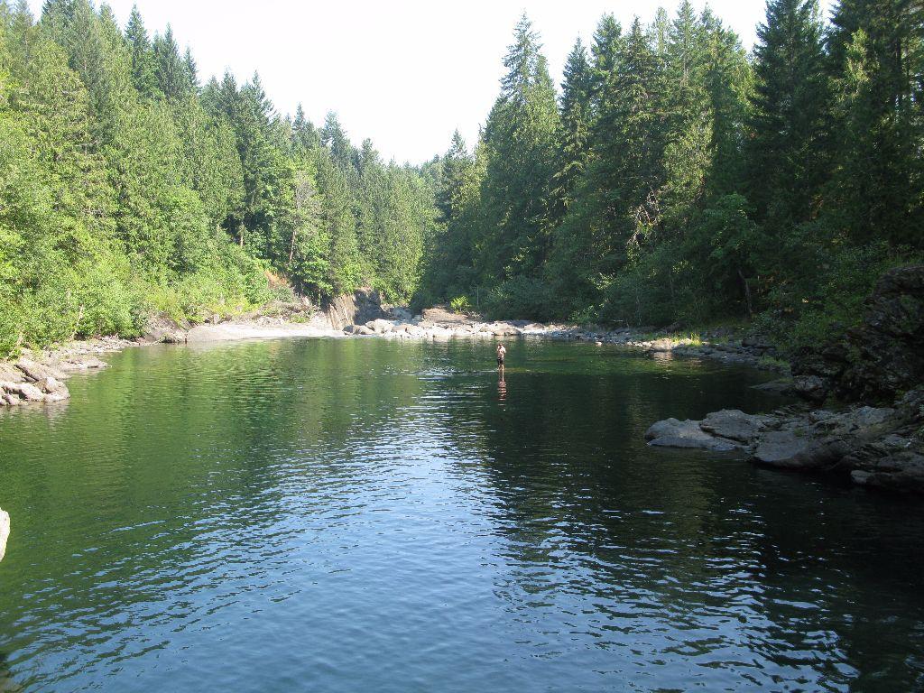 Kanada Vancouver Island Nanaimo River