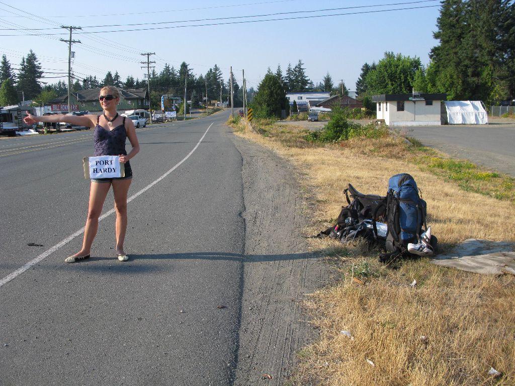 Per Anhalter durch Kanada | Hitchhiking
