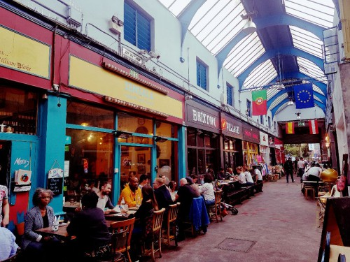 Beste Restaurants in London auf dem Brixton Market