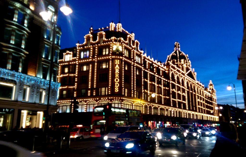 Harrods berühmtes Luxus-Kaufhaus - Sehenswürdigkeiten in London