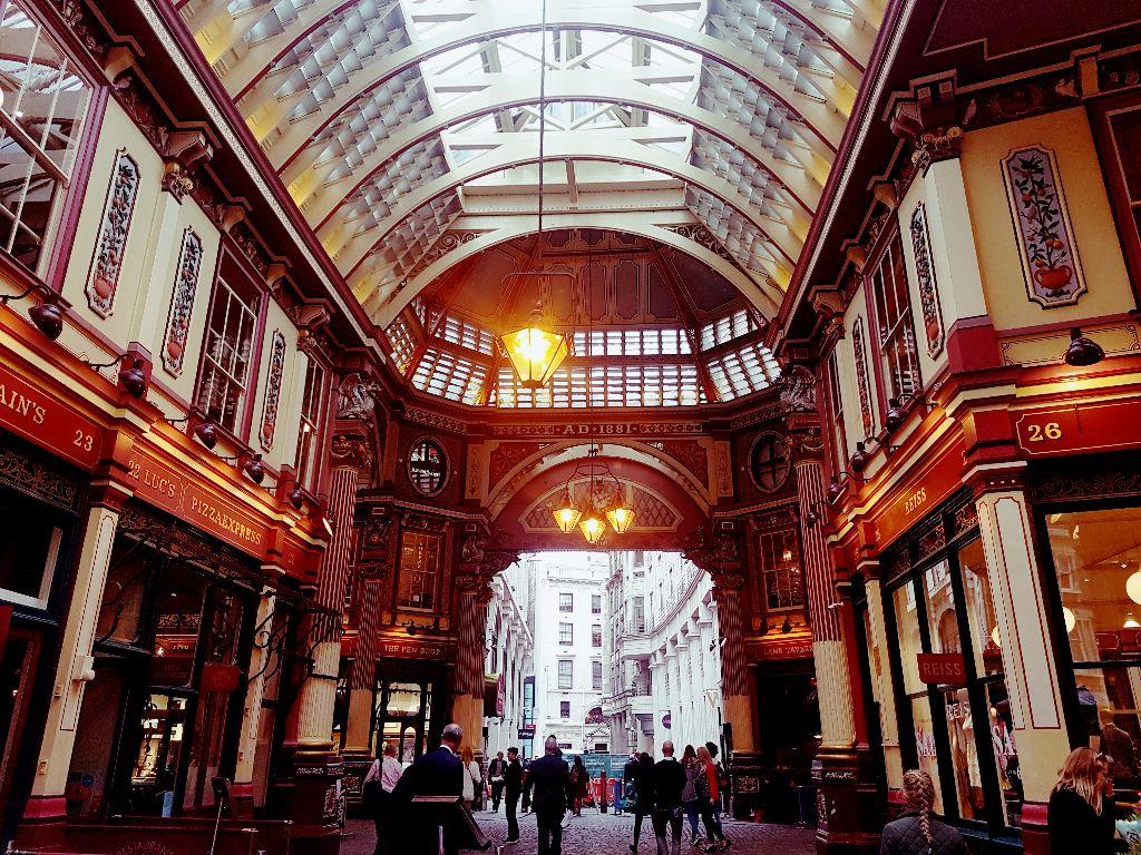 Sehenswürdigkeiten in London: Der Leadenhall Market