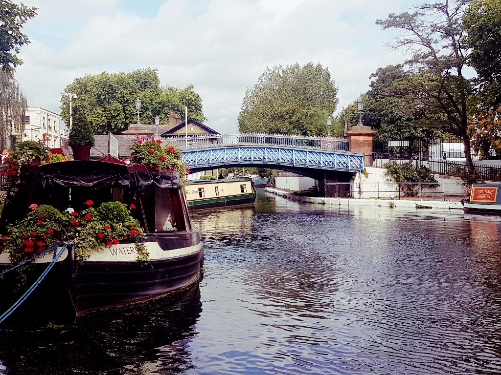 Little Venice Kanäle in London - Sehenswürdigkeiten in London