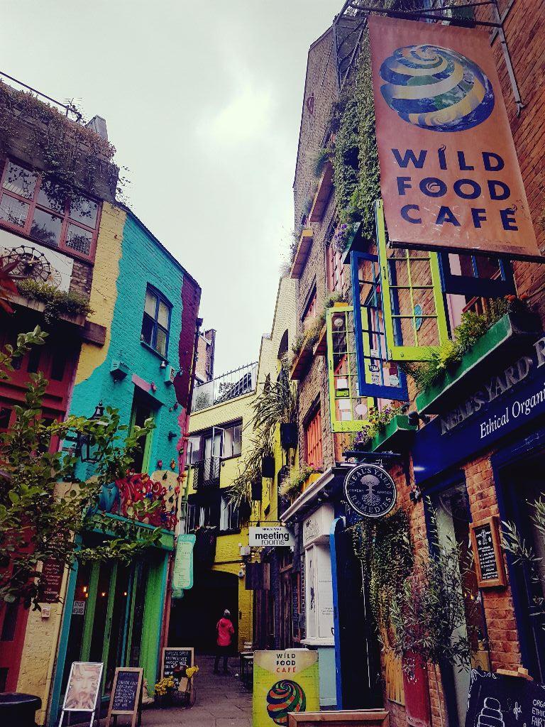 Das Wild Food Cafe ist eins der besten Restaurants Londons - Sehenswürdigkeiten in London
