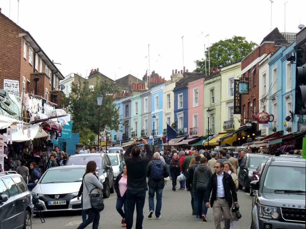 Portobello Market in Notting Hill - Sehenswürdigkeiten in London