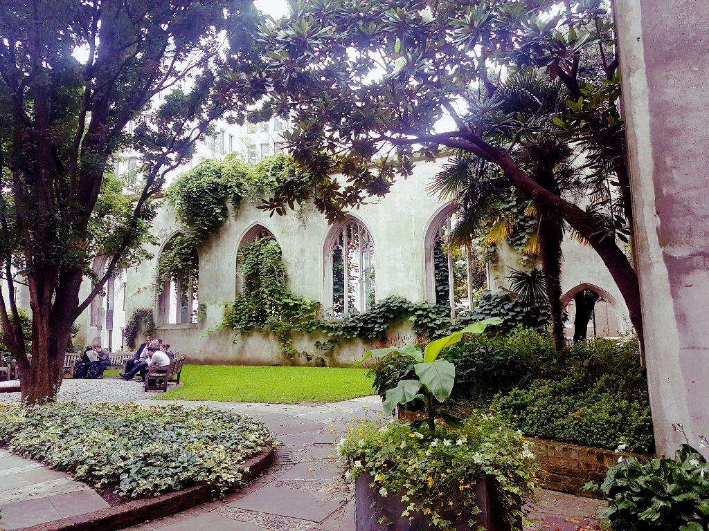 St. Dunstan in the East - Sehenswürdigkeiten in London