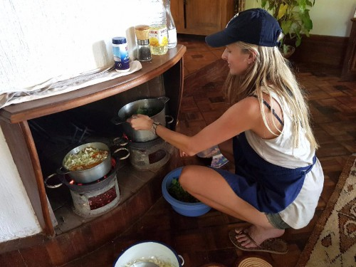 Backpacking Madagaskar: Kochen bei Tana Kitchen