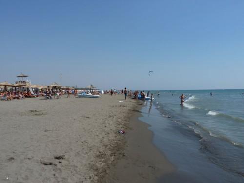 Eine weitere Sehenswürdigkeit in Montenegro ist der lange Strand in Ulcinj