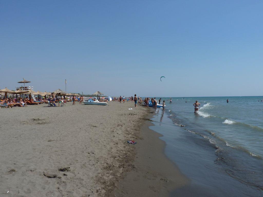 Sehenswürdigkeit in Montenegro: Eine weitere Sehenswürdigkeit in Montenegro ist der lange Strand in Ulcinj