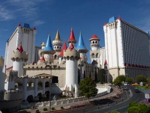 Sieht aus wie ein Märchenschloss: Das Excalibur-Hotel in Las Vegas - Las Vegas Tipps Hotel
