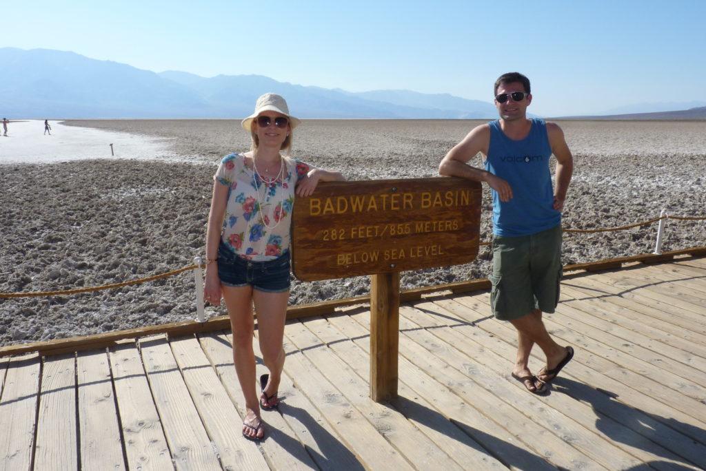 USA Westen Reiseroute: Death Valley