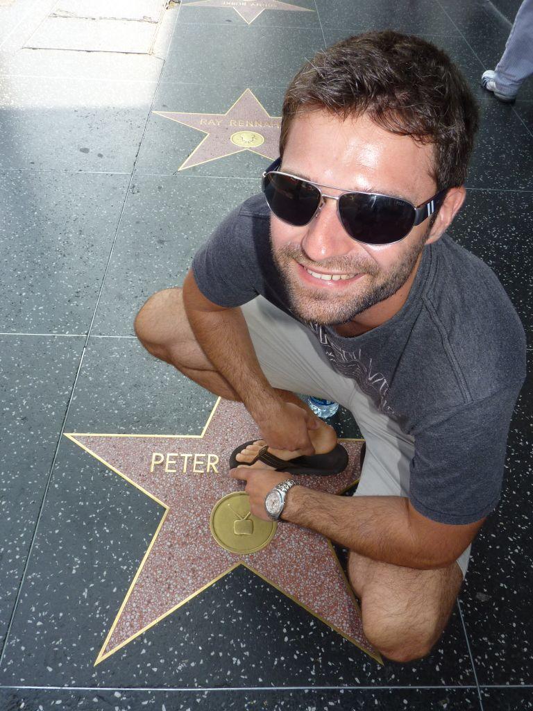 Der Walk of Fame in Hollywood gehört zu den typischen Sehenswürdigkeiten in Los Angeles