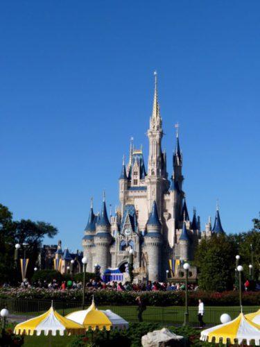 Disneyschloss in Orlando in Florida