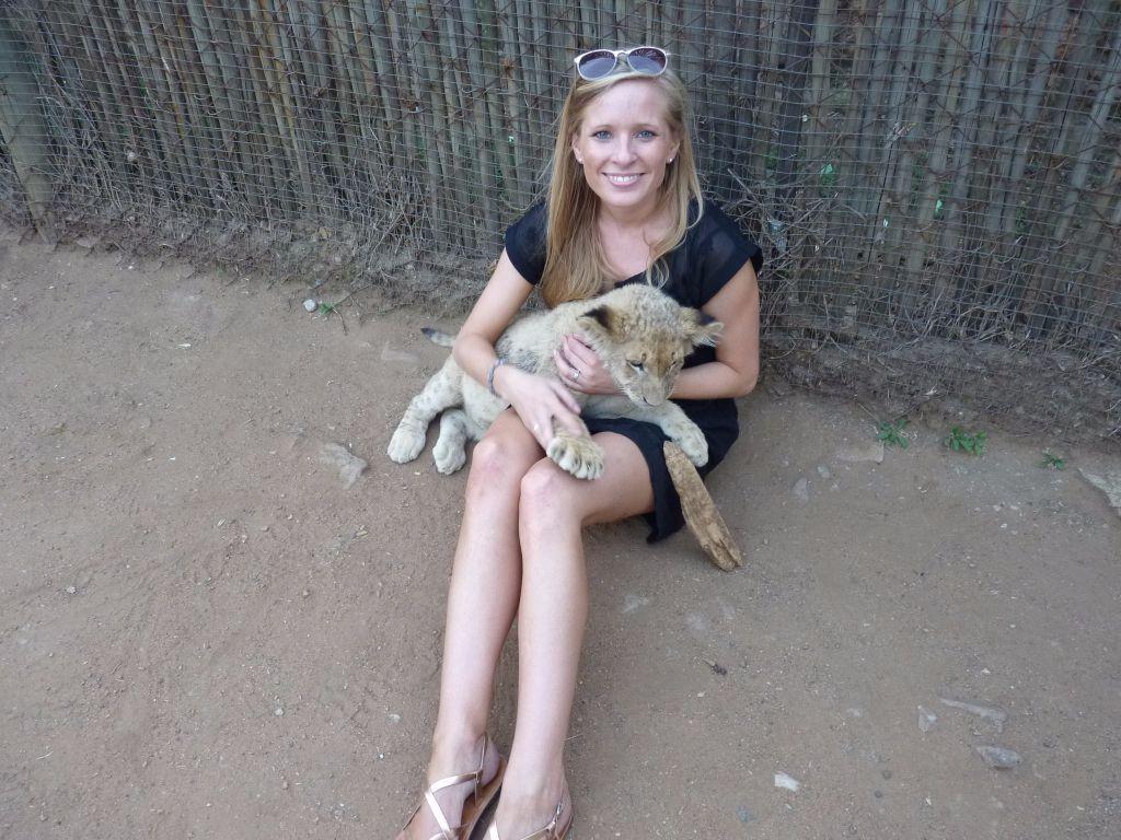 Sehenswürdigkeit in Johannesburg: Spielen mit Löwenbabies im Lion Park