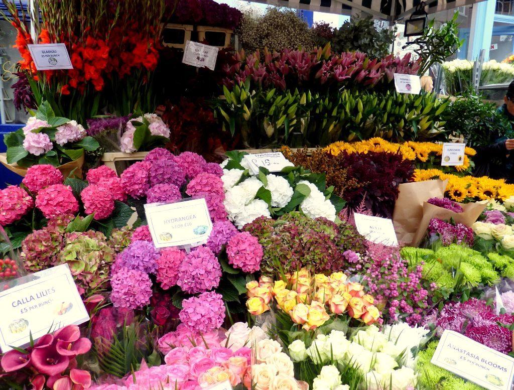 Sehenswürdigkeiten in London: Der Columbia Flower Market