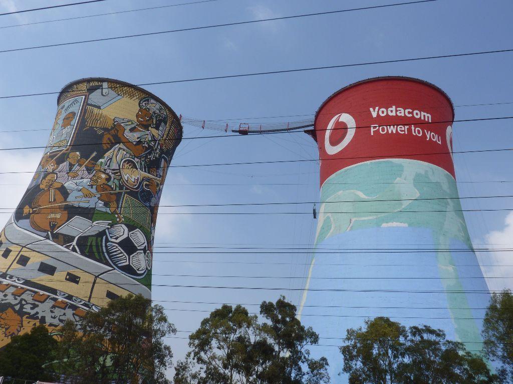 Soweto Towers im Township in der Nähe von Johannesburg