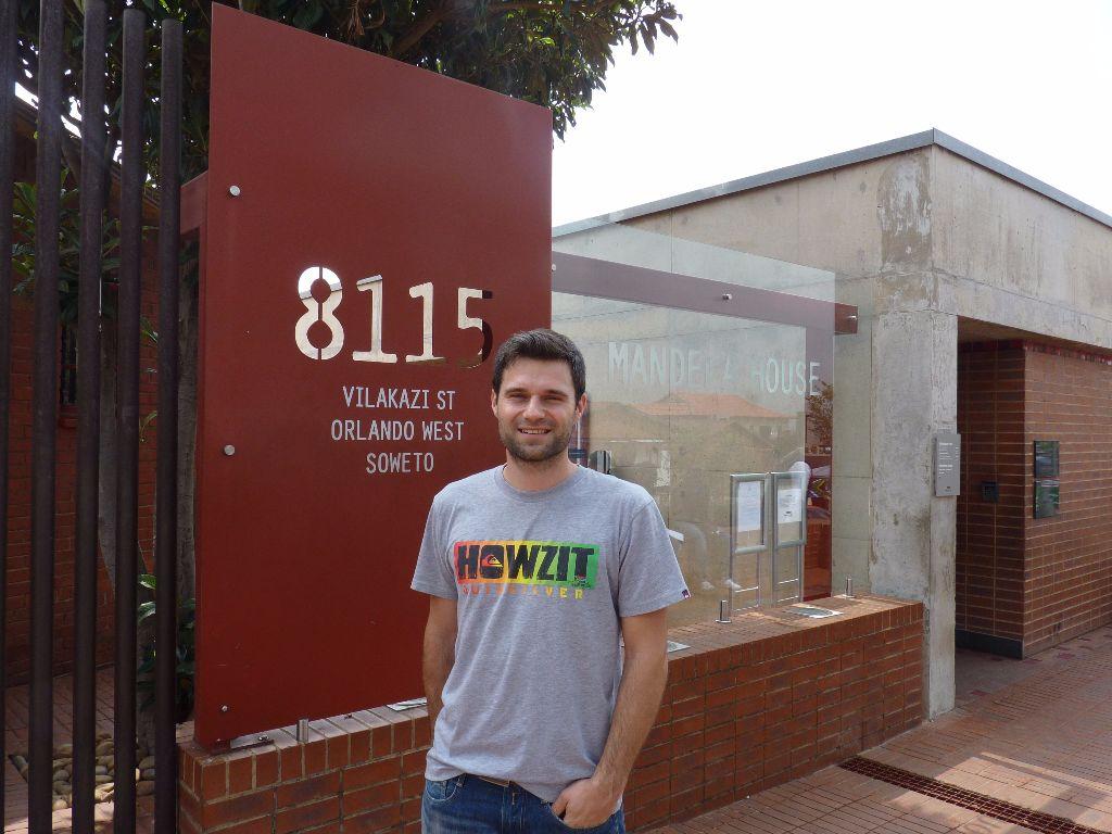 Sehenswürdigkeit in Johannesburg: Das Haus von Nelson Mandela