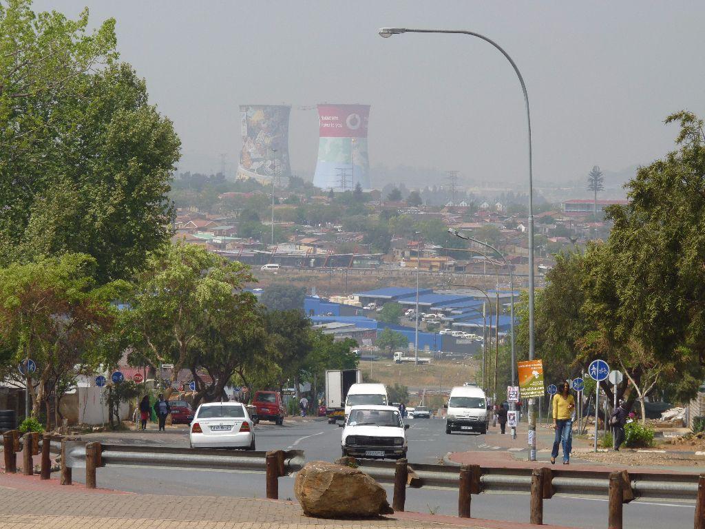 Soweto Township bei Johannesburg