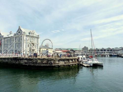 Sightseeing in Kapstadt: Die Waterfront ist eins der Touristen-Highlights in Kapstadt und nicht gerade eine Geheimtipp