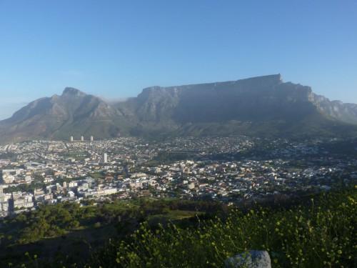 DAS Wahrzeichen Kapstadt's - der Tafelberg