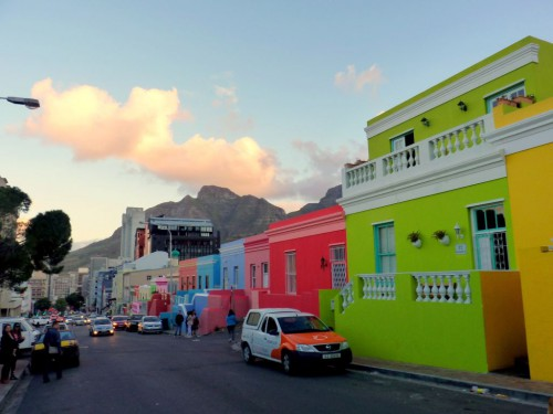 Highlights in Kadstadt - as Bo Kaap Viertel ist eine Sehenswürdigkeit in Kapstadt