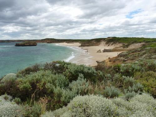 Wunderschöner Strand an der Great Ocean Road in Australien