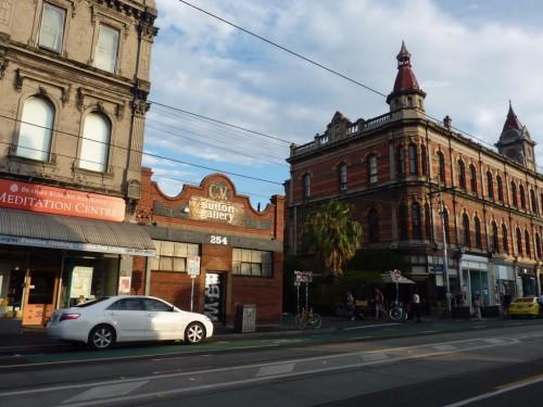 Restraunts und Bars auf der Brunswick Street in Melbourne