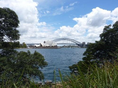 Blick auf das Opera House in Sydney
