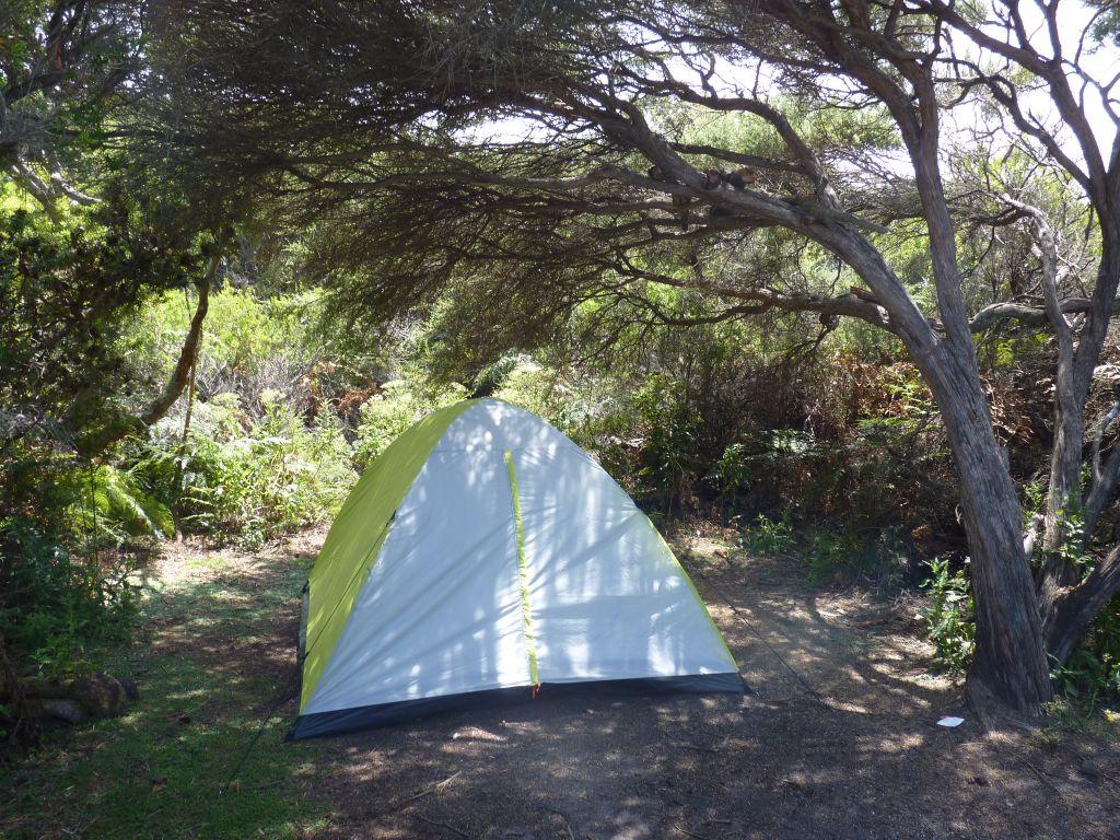 Kostenloser Zeltplatz an den Friendly Beaches in Tasmanien - Tasmanien-Sehenswürdigkeiten auf deiner Tasmanien-Rundreise