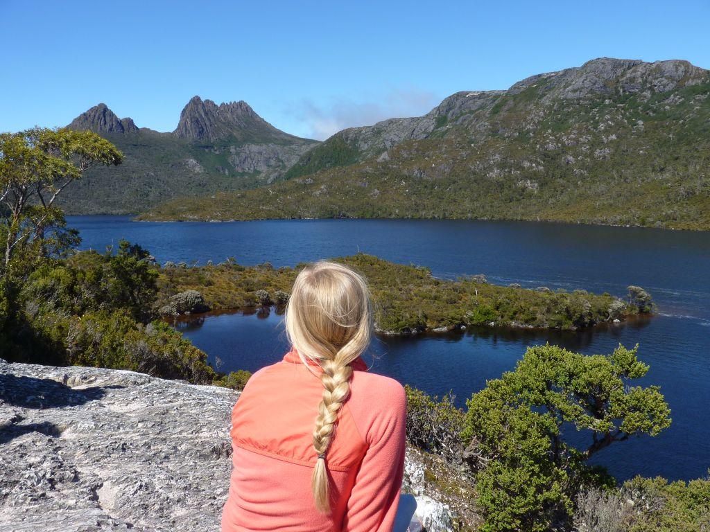 Der Cradle Mountain Nationalpark ist eine Sehenswürdigkeit auf unserer Tasmanien-Rundreise