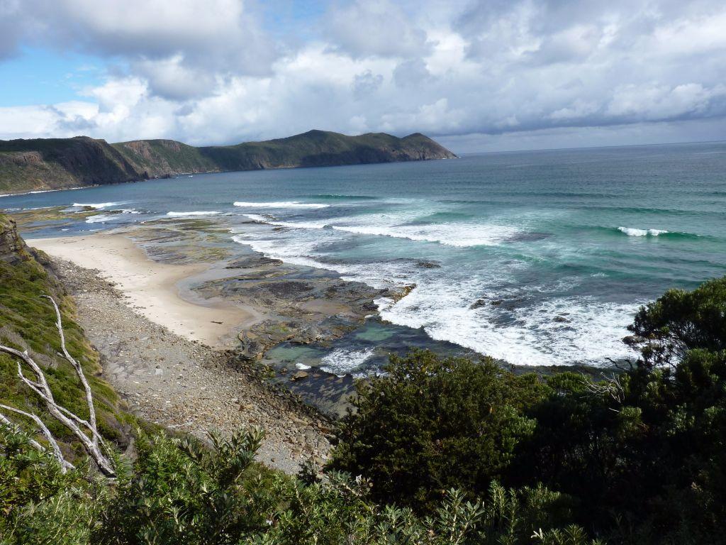 Ausblick aufs Meer vom südlichsten Ort Australiens - Tasmanien-Sehenswürdigkeiten auf deiner Tasmanien-Rundreise