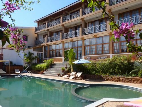 Hotel in der Nähe vom Flughafen Antananarivo in Madagaskar
