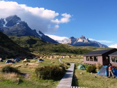 Tipps Torres del Paine: Das Paine Grande Camp hat uns gut gefallen