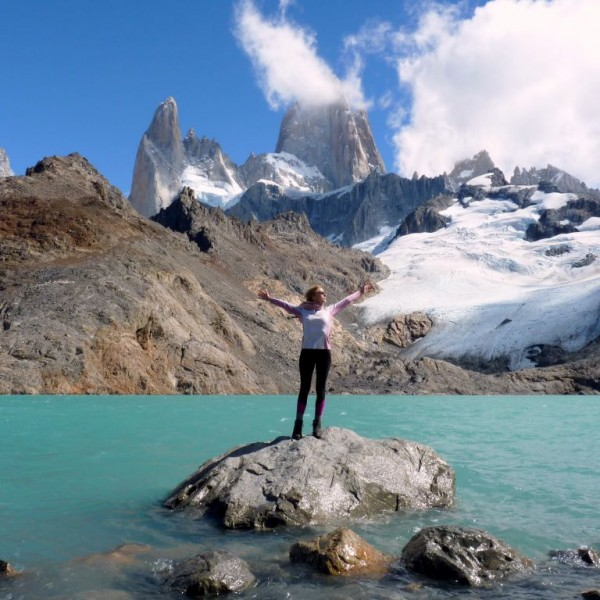 Patagonien-Backpacking Highlights & Route: Fitzroy bei El Chalten