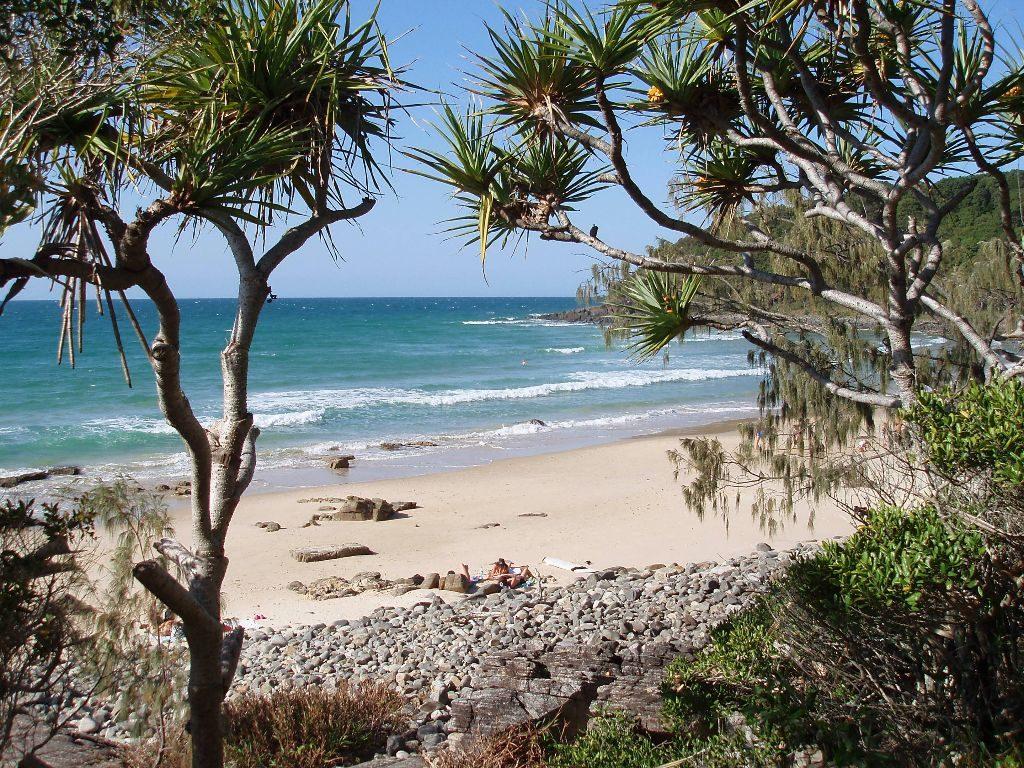 Strand von Noosa Heads- Sehenswürdigkeiten Australien Ostküste – Reiseroute Australien Ostküste im Überblick