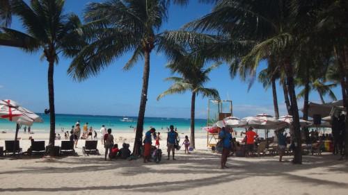 Strand von Boracay im Philippinen-Reisebericht