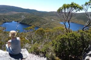 Tasmanien_Cradle Mountain Ausblick vom Cradle Mountain Reisebericht für Camping und Backpacking in Australien von Work Travel Balance