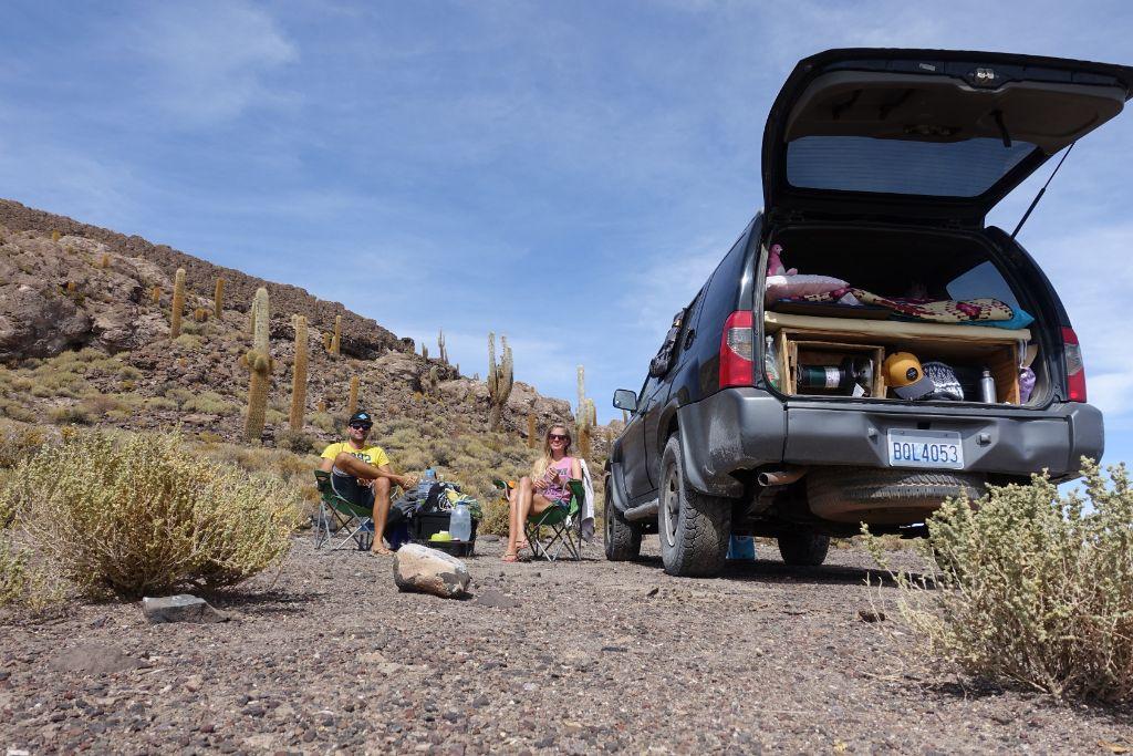 Vanlife in Südamerika - unser Campervan